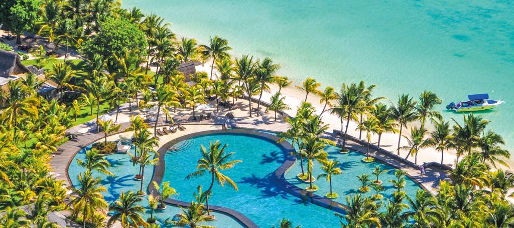 Mauritius Aerial Trou Aux Biches