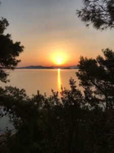 Skiathos Golden Sunset